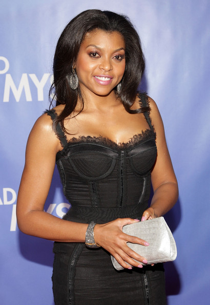 Taraji P. Henson Diamond Hoops
