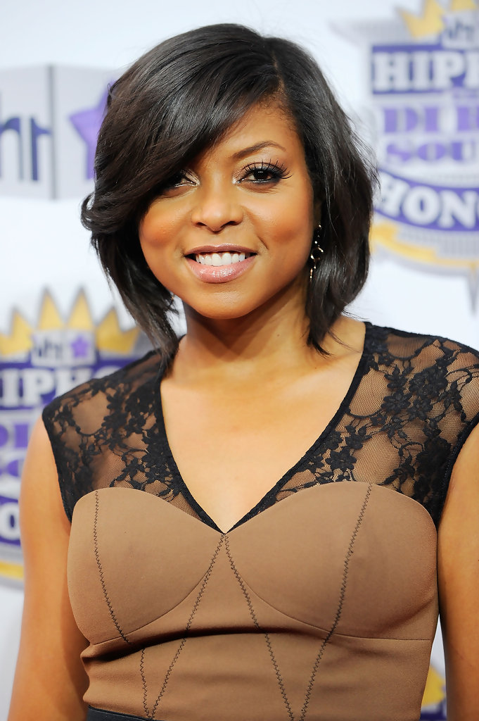 Great Taraji P. Henson. Taraji Showed Off Her Signature Bob While Hitting The Hip  Hop Honors Awards.