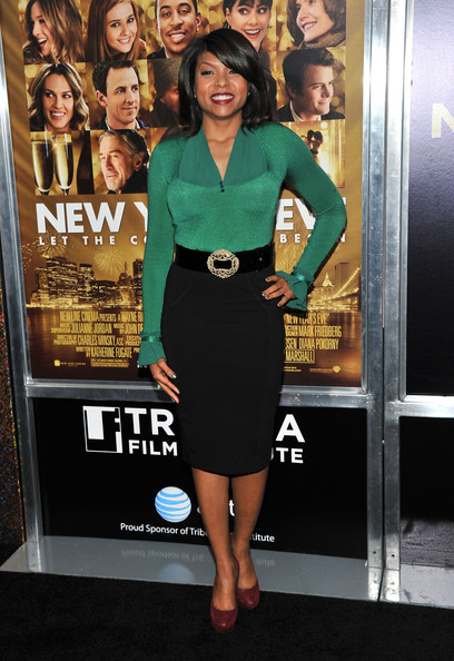 Taraji P. Henson Fitted Blouse