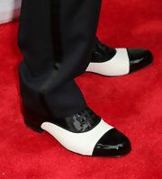 Justin Timberlake sported these black and white oxfords for his old-school look at the red carpet of his album release.
