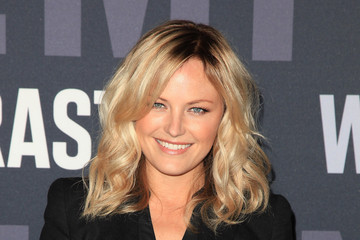 Malin Akerman With A Medium Curly Hairstyle