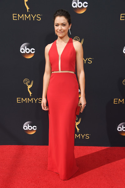 Tatiana Maslany Evening Dress