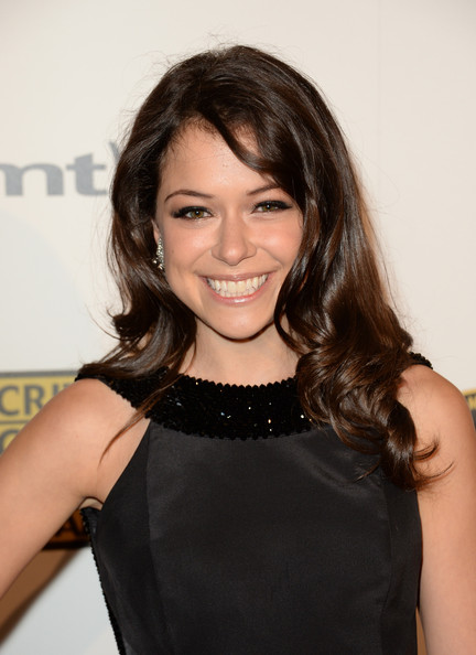 Tatiana Maslany Layered Cut