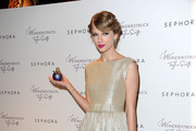Singer/songwriter Taylor Swift celebrates the launch of her new debut fragrance