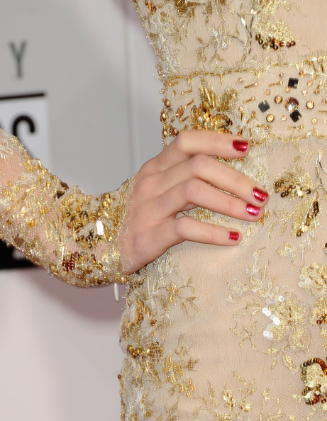 Taylor Swift Red Nail Polish