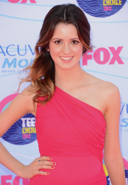 More Pics of Laura Marano One Shoulder Dress (1 of 3) - Laura Marano Lookbook - StyleBistro
