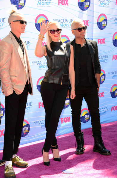 Gwen+Stefani in Teen Choice Awards 2012 - Arrivals