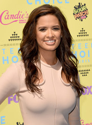 Rocsi Diaz looked fab with her textured waves at the Teen Choice Awards.