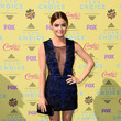 Look of the Day: Lucy Hale in Bold Blue