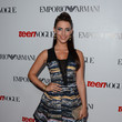 Jessica Lowndes in an Abstract Print