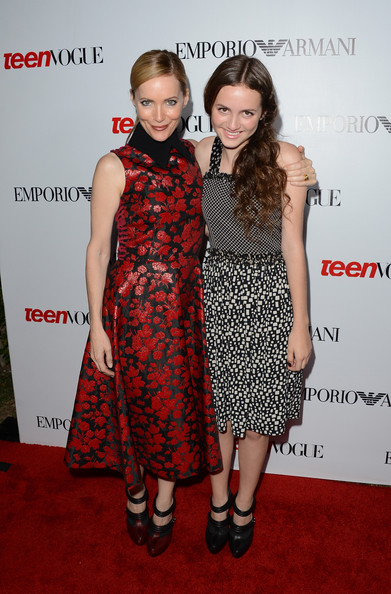 Leslie Mann and Maude Apatow in Rodarte