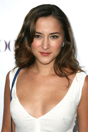 Zelda Williams styled her hair with billowy waves for the Teen Vogue Young Hollywood party.