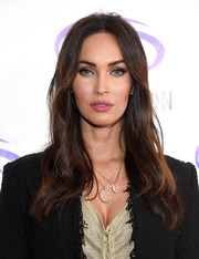 Megan Fox framed her gorgeous face with this subtly wavy 'do for an appearance at WonderCon.
