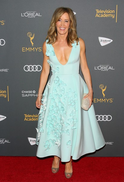 Felicity Huffman in Gauri & Nainika at The Television Academy's Reception