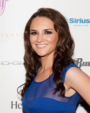 Rachael Leigh Cook looked fabulous at the Leather & Laces event in long luscious curls.