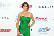 Teri Hatcher Metallic Clutch