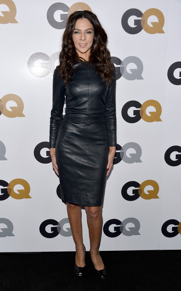 Terri Seymour Leather Dress