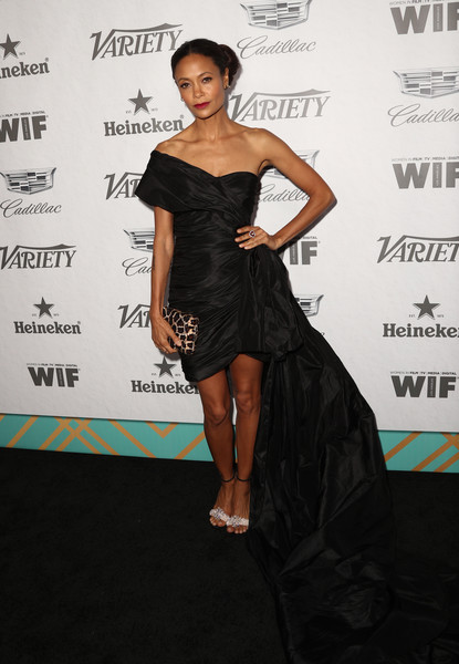 Thandie Newton Off-the-Shoulder Dress