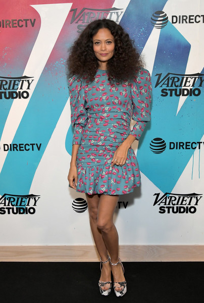 Thandie Newton Platform Sandals