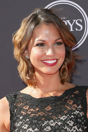 Melissa's wavy locks gave her a fun and flirty look on the red carpet.