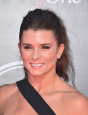 Danica Patrick sported a messy-cute ponytail at the 2016 ESPYs.