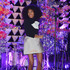 Mini Skirt Lookbook: Solange Knowles wearing Vika Gazinskaya Mini Skirt (6 of 32). Solange Knowles let her inner child out with this mini skirt printed with cloud sketches.