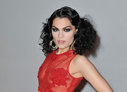 Jessie J. attended the 2012 BRIT Awards wearing her hair in retro-inspired Marcel waves and lots of shiny voluminous curls.