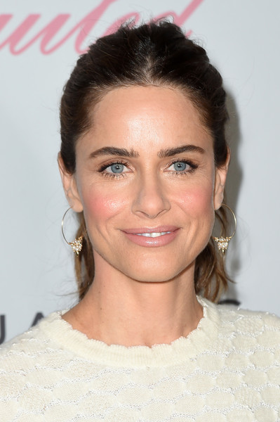 More Pics of Amanda Peet Ponytail (1 of 5) - Long Hairstyles Lookbook - StyleBistro [the beguiled,hair,face,eyebrow,hairstyle,lip,chin,skin,forehead,beauty,cheek,amanda peet,new york city,the metrograph,new york premiere]