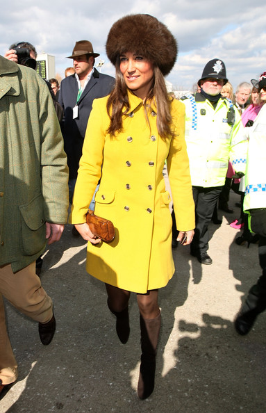 More Pics of Pippa Middleton Wool Coat (1 of 32) - Pippa Middleton Lookbook - StyleBistro