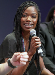 Xosha Roquemore attended the 'Mindy Project' FYC event sporting a head full of braids.