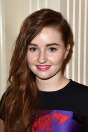 Kaitlyn Dever sported a bright berry lip at TheWrap's Emmy party.