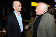 Jeff Bezos and Buzz Aldrin Photo