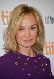 Jessica Lange looked sassy with her messy, wavy bob at the TIFF premiere of 'Therese.'