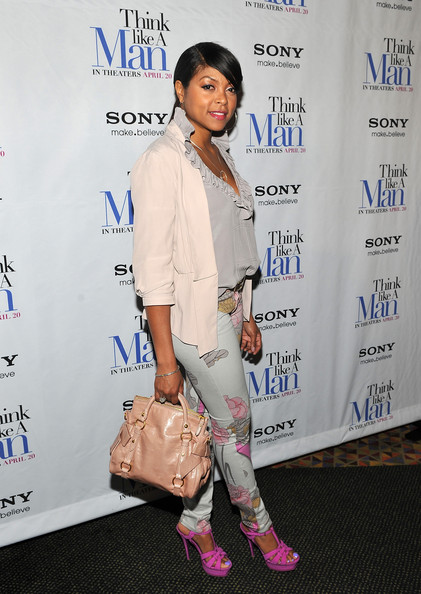 More Pics of Taraji P. Henson Strappy Sandals (1 of 10) - Taraji P. Henson Lookbook - StyleBistro