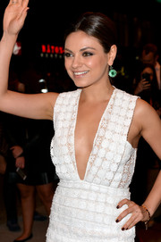 Mila Kunis attended the TIFF premiere of 'Third Person' wearing brown nail polish.