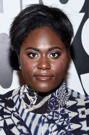 Danielle Brooks wore her short hair in an edgy, high-volume style for Fashion Rocks 2014.