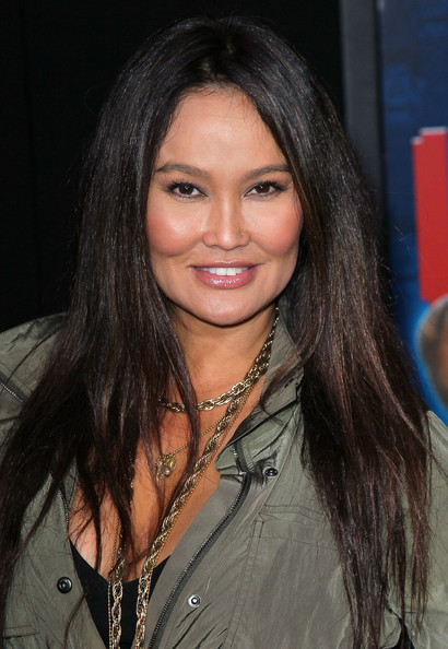 Tia Carrere Long Straight Cut