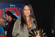 Tia Carrere Platform Sandals