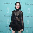 St. Vincent at the Tiffany & Co. Fragrance Launch Event