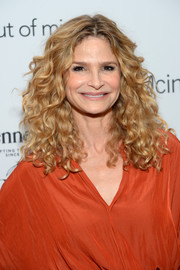 Kyra Sedgwick attended the New York premiere of 'Time Out of Mind' sporting her signature curls.