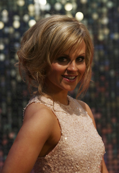 Tina O'Brien Bobby Pinned Updo