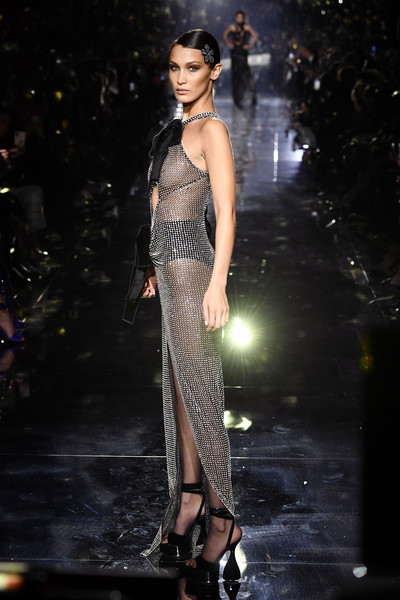 More Pics of Bella Hadid Over the Knee Boots (6 of 8) - Boots Lookbook - StyleBistro [image,fashion model,fashion,fashion show,runway,clothing,haute couture,shoulder,dress,public event,event,bella hadid,nudity,runway,california,hollywood,milk studios,tom ford aw20 show - runway,bella hadid,runway,fashion show,new york fashion week,supermodel,fashion,fashion week,model,celebrity,vogue]