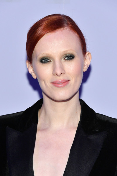 More Pics of Karen Elson Pantsuit (1 of 3) - Suits Lookbook - StyleBistro