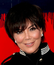 Kris Jenner sported a short 'do with eye-grazing bangs at the Tommy Hilfiger Spring 2017 show.