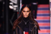 Joan Smalls Leather Jacket