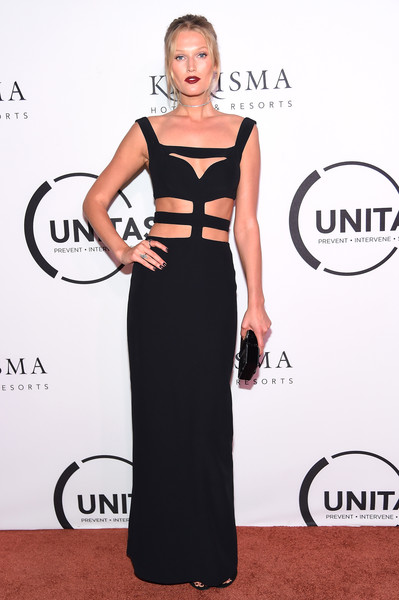 Toni Garrn Cutout Dress