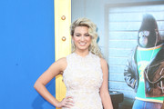Tori Kelly Tube Clutch