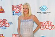 Tori Spelling Maternity Dress