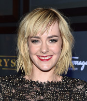 Jena Malone rocked a messy razor cut at the TIFF premiere of 'Time Out of Mind.'