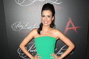 Torrey Devitto Strapless Dress